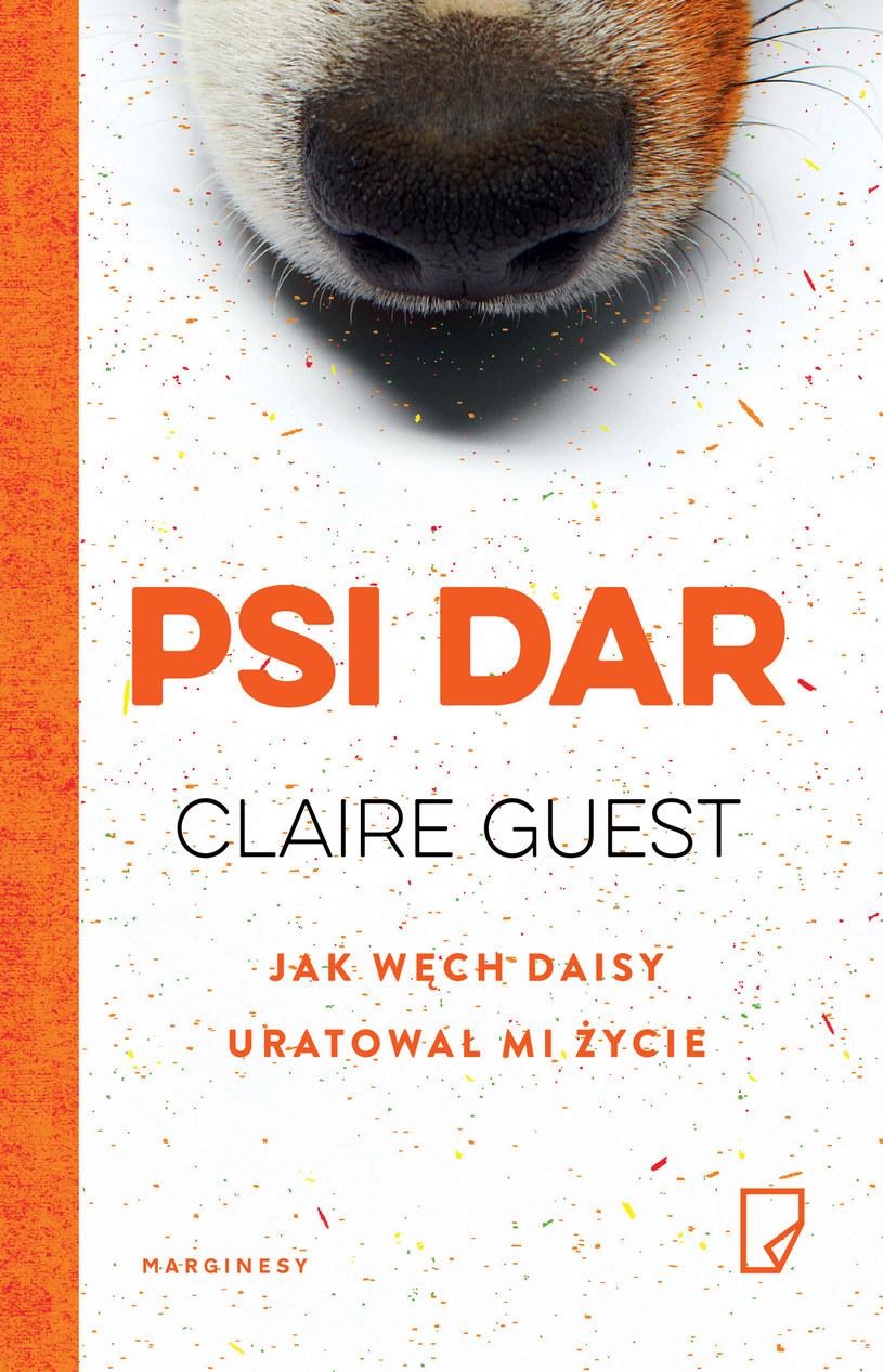 Okładka książki Claire Guest /materiały prasowe