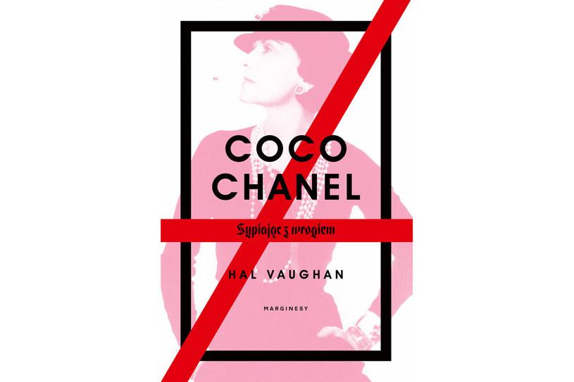 """Okładka książki """"Coco Chanale. Sypiając z wrogiem"""" /materiały prasowe"""