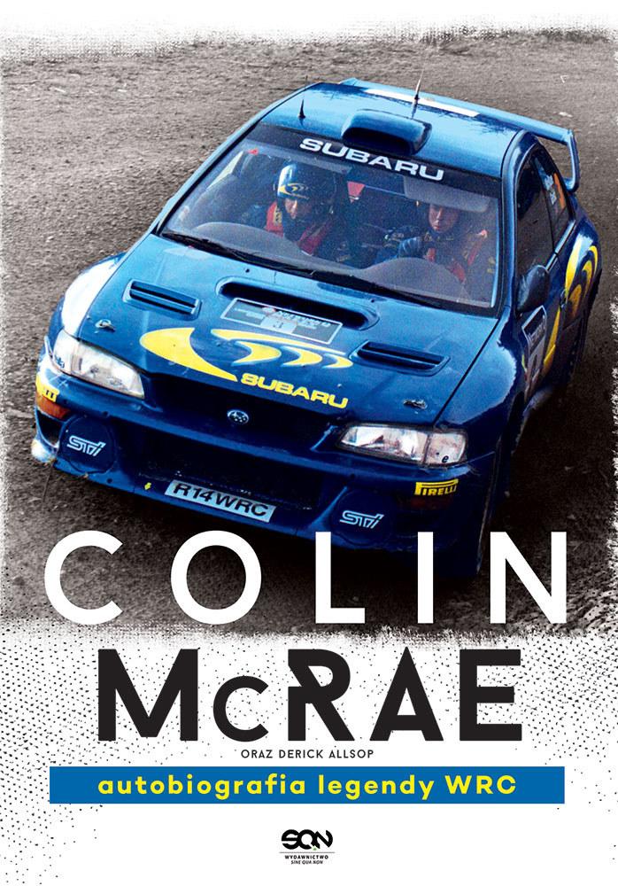 """Okładka książki """"Colin McRae. Autobiografia legendy WRC"""" /Informacja prasowa"""