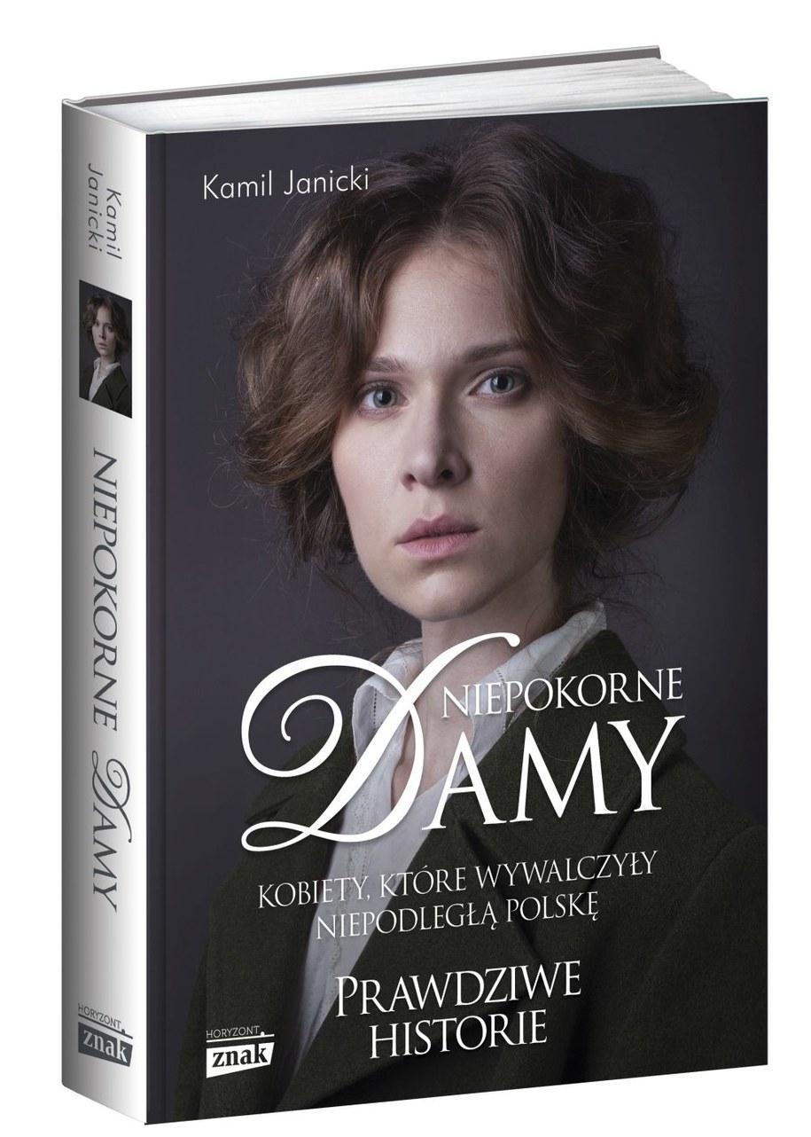 Okładka książki Damy Niepokorne /Materiały prasowe