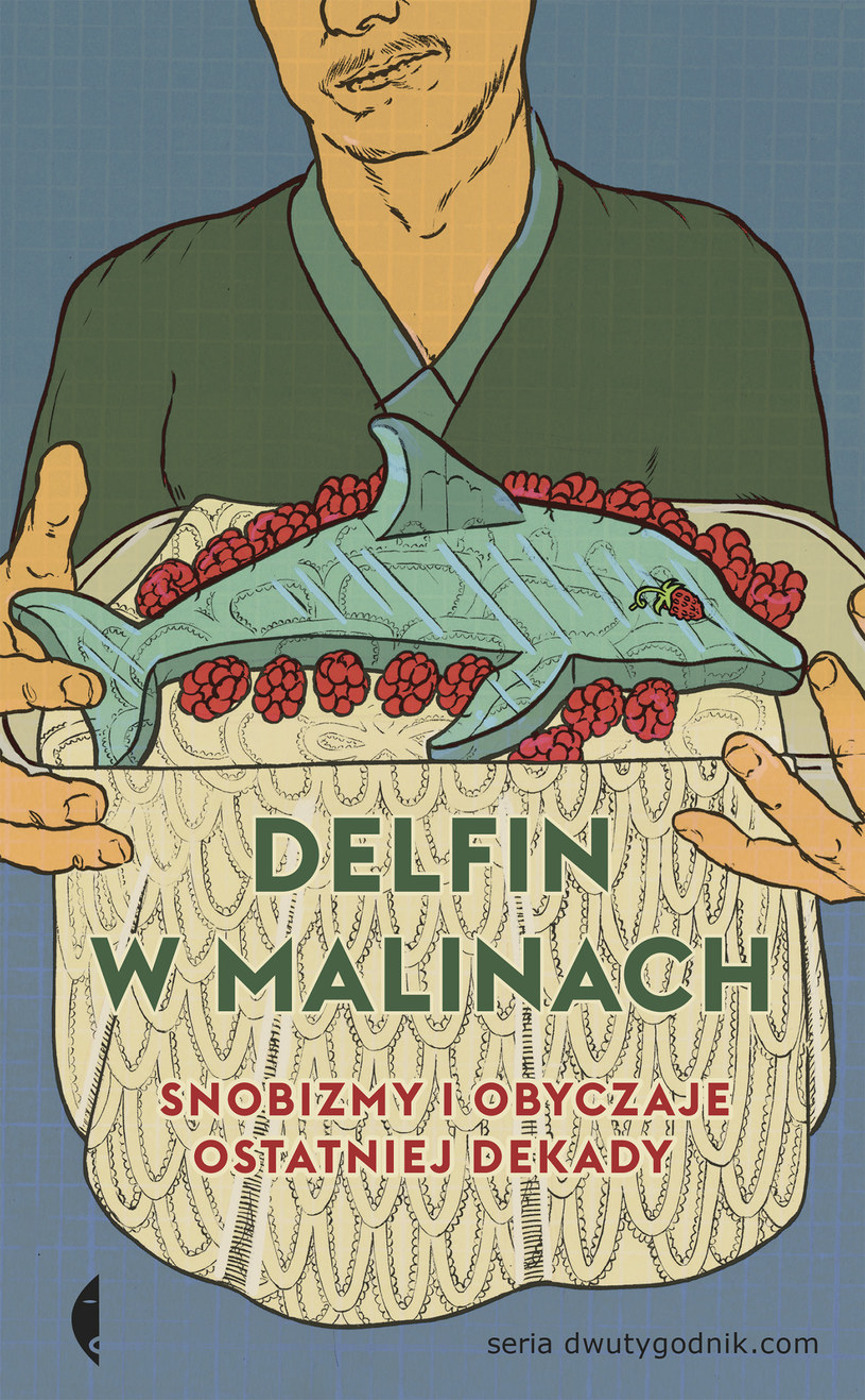 """Okładka książki """"Delfin w malinach"""" /INTERIA.PL"""
