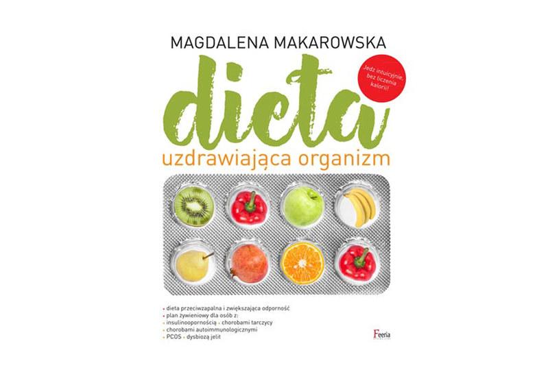 """Okładka książki """"Dieta uzdrawiająca organizm"""" /materiały prasowe"""