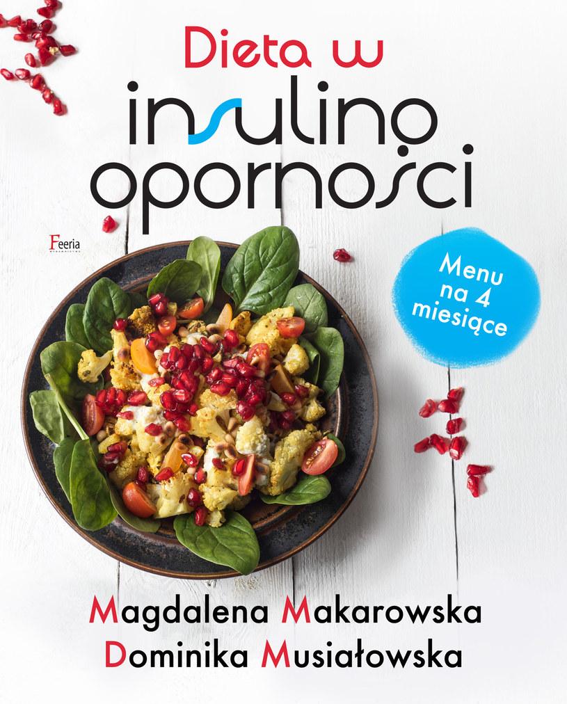 """Okładka książki """"Dieta w insulinooporności"""" /materiały prasowe"""