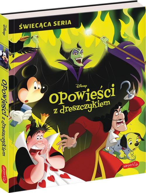 Okładka książki: Disney. Opowieści z dreszczykiem /materiały prasowe