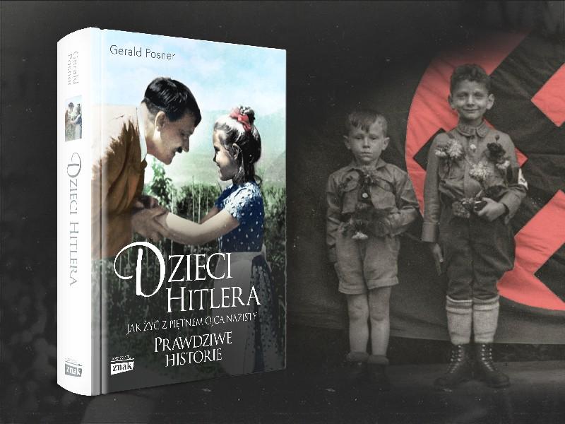 """Okładka książki """"Dzieci Hitlera"""""""