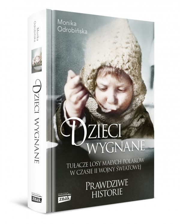 """Okładka książki """"Dzieci wygnane"""" Moniki Odrobińskiej /materiały prasowe"""