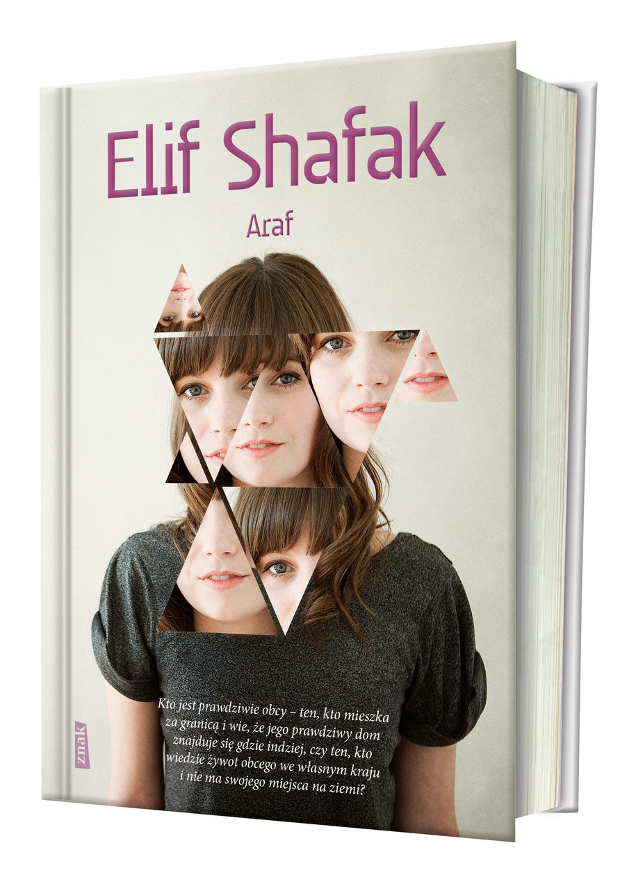 """Okładka książki Elif Shafak pod tytułem """"Araf"""" /Wydawnictwo Znak /RMF FM"""
