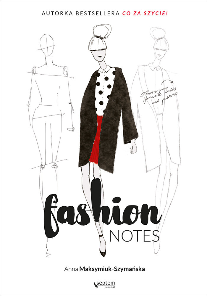 """Okładka książki """"Fashion notes"""" /materiały prasowe"""