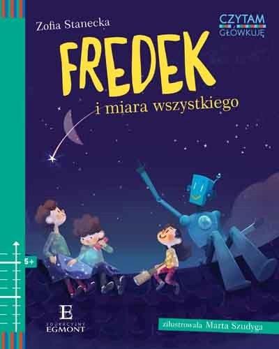 """Okładka książki """"Fredek i miara wszystkiego"""" /materiały prasowe"""