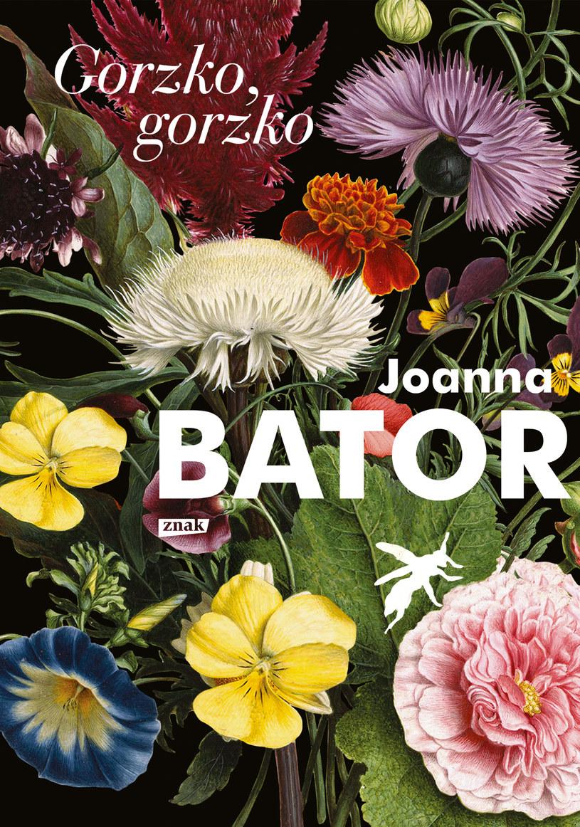 """Okładka książki """"Gorzko, gorzko"""" Joanny Bator /materiały prasowe"""