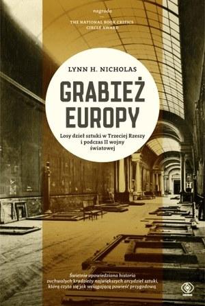 """Okładka książki """"Grabież Europy"""" /materiały prasowe"""