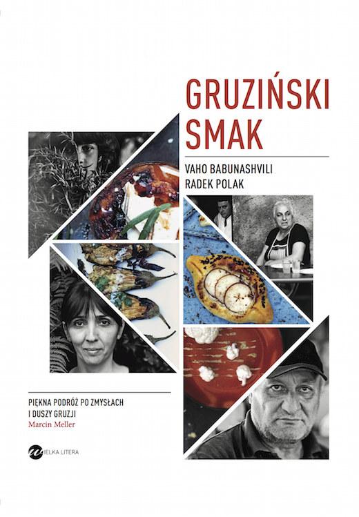 """Okładka książki """"Gruziński smak"""" /materiały prasowe"""