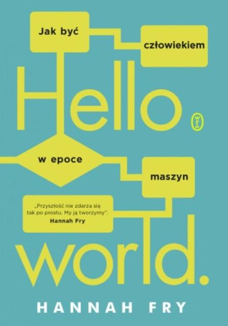 Okładka książki Hanny Fry /Materiały prasowe