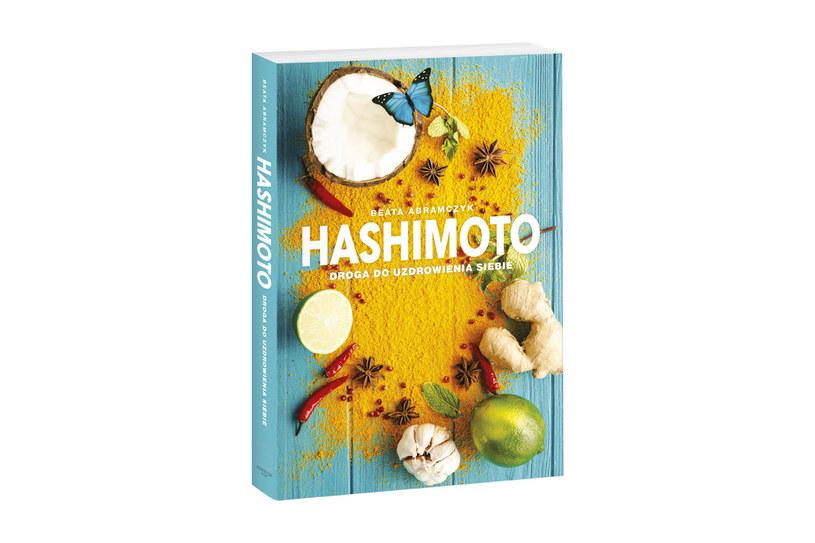 """Okładka książki """"Hashimoto. Droga do uzdrowienia siebie"""" /materiały prasowe"""