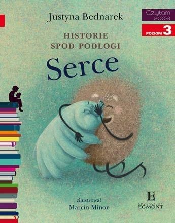 """Okładka książki """"Historie spod podłogi. Serce"""" /materiały prasowe"""