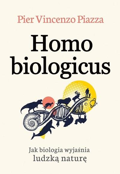 "Okładka książki ""Homo Biologicus"" /materiały prasowe"