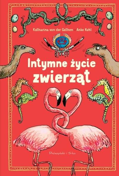 """Okładka książki """"Intymne życie zwierząt"""" /materiały prasowe"""