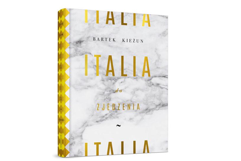 """Okłądka książki """"Italia do zjedzenia"""" /materiały prasowe"""