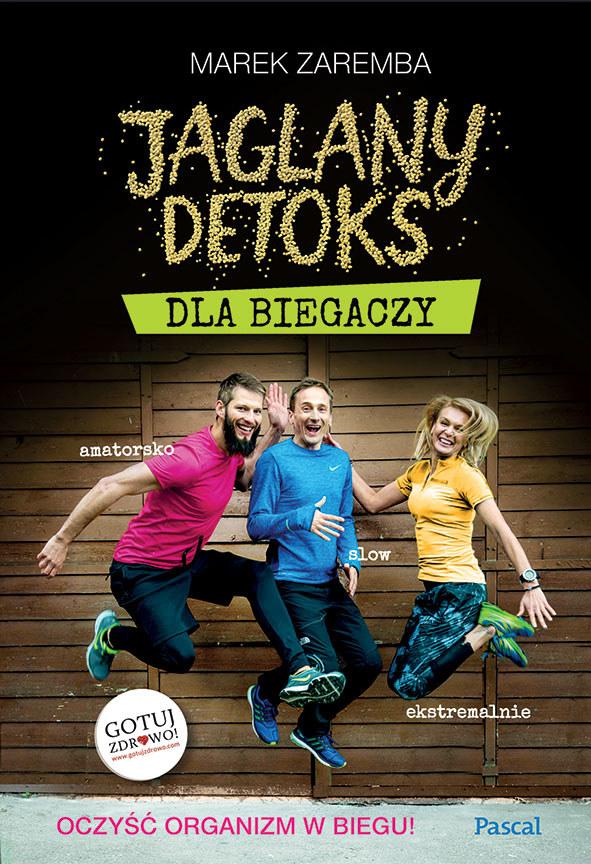 """Okładka książki """"Jaglany detoks dla biegaczy"""" /materiały prasowe"""