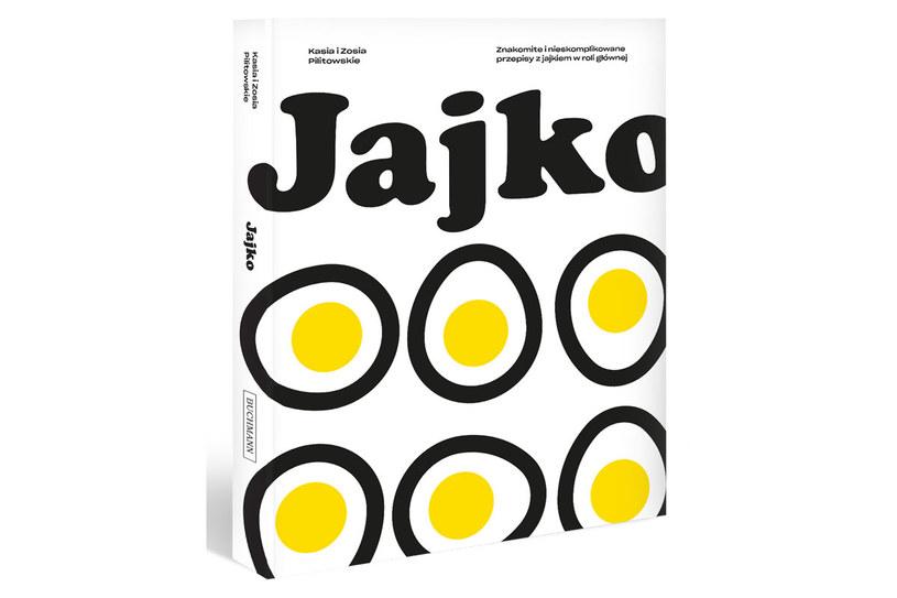 """Okładka książki """"Jajko"""" /materiały prasowe"""