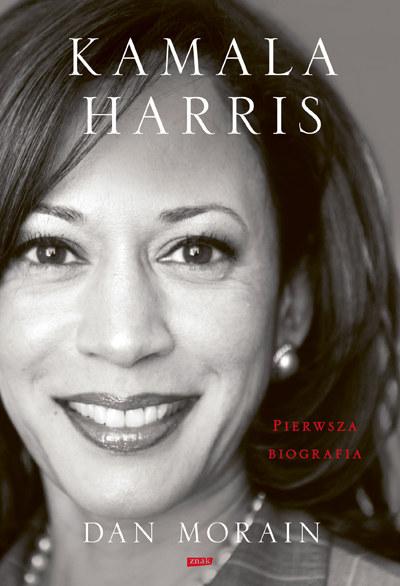 """Okładka książki """"Kamala Harris. Pierwsza biografia"""" /materiały prasowe"""