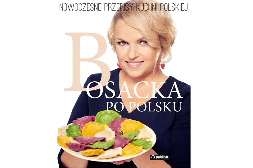 """Okładka książki Katarzyny Bosackiej: """"Bosacka po polsku"""" /materiały prasowe"""