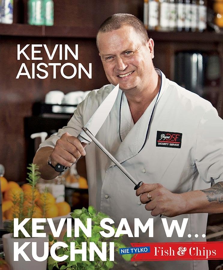"""Okładka książki """"Kevin sam w... kuchni"""" /materiały prasowe"""