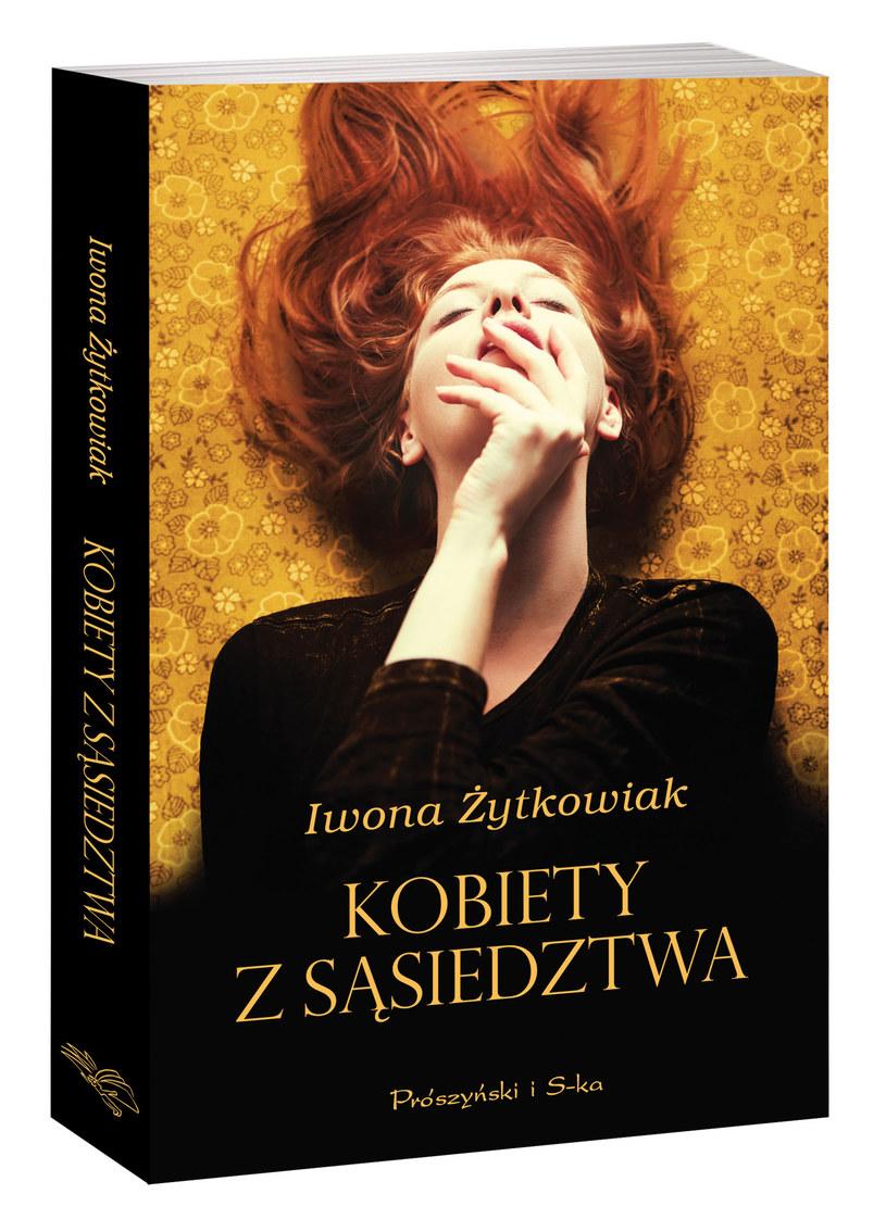 """Okładka książki """"Kobiety z sąsiedztwa"""" /materiały prasowe"""