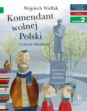 """Okładka książki """"Komendant Wolnej Polski' /materiały prasowe"""
