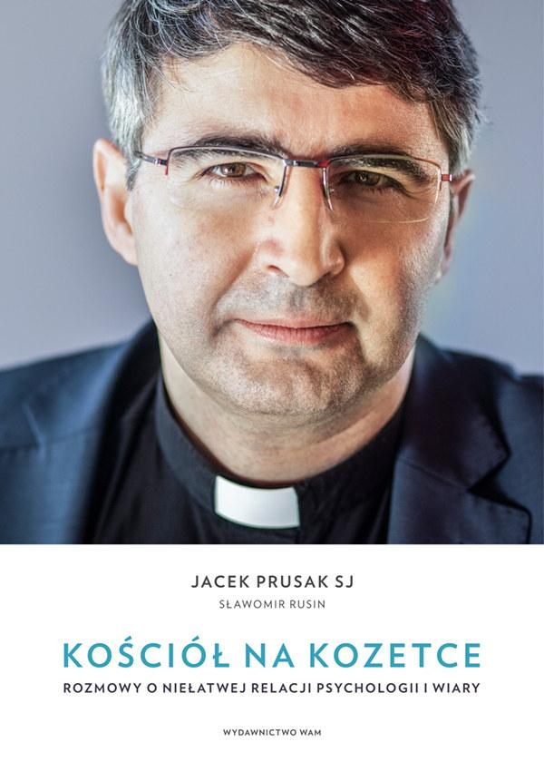 """Okładka książki """"Kościół na kozetce"""" /materiały prasowe"""