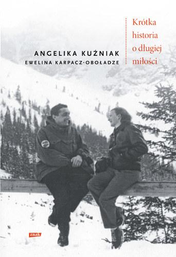 """Okładka książki """"Krótka historia o długiej miłości"""" /INTERIA.PL/materiały prasowe"""