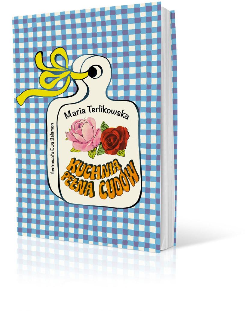 """Okładka książki """"Kuchnia pełna cudów"""" /materiały prasowe"""
