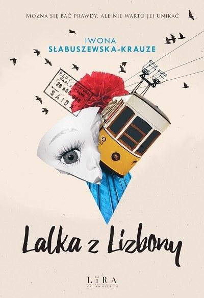 """Okładka książki """"Lalka z Lizbony"""" /materiały prasowe"""