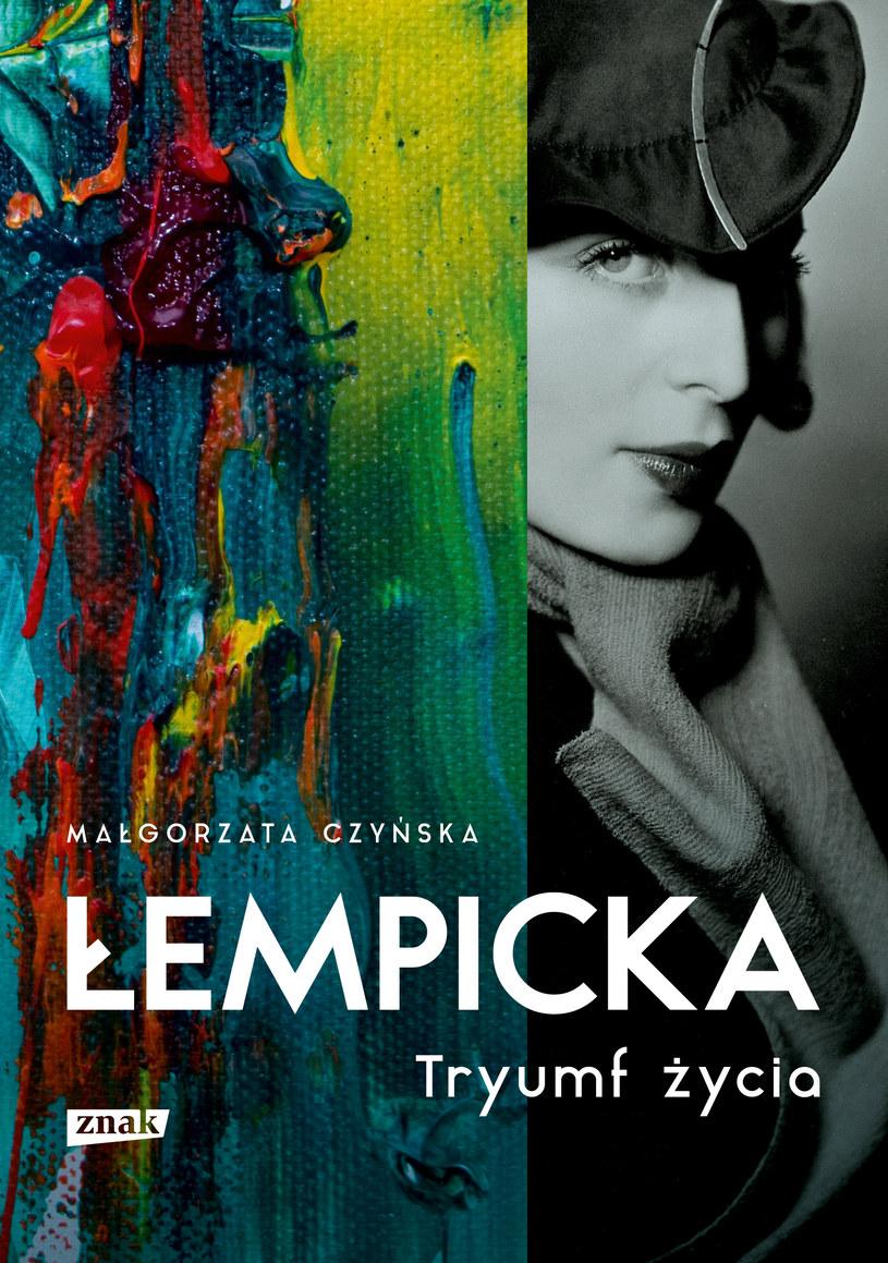 """Okładka książki """"Łempicka. Tryumf życia"""" /materiały prasowe"""
