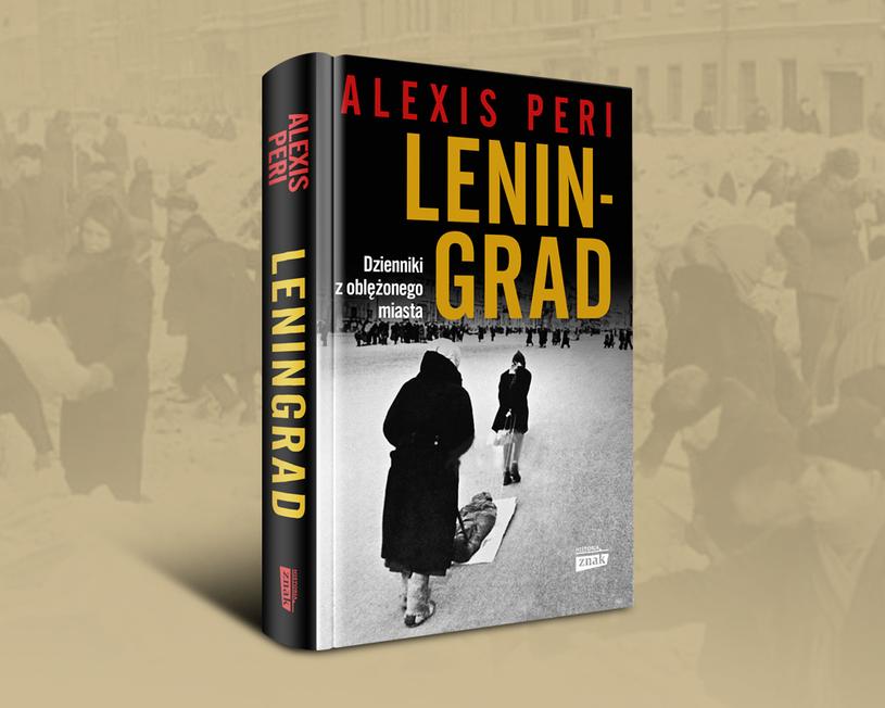 """Okładka książki """"Leningrad"""" /Ciekawostki Historyczne"""