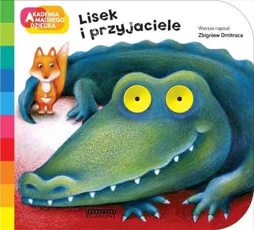 """Okładka książki """"Lisek i przyjaciele"""" /materiały prasowe"""