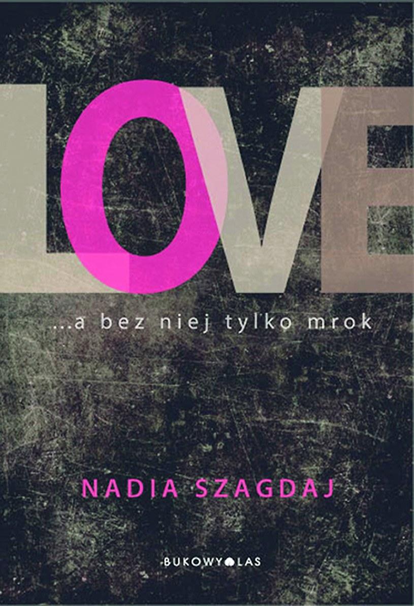 """Okładka książki """"Love"""" /materiały prasowe"""
