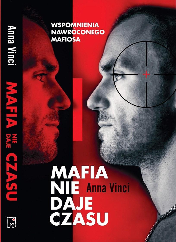 """Okładka książki """"Mafia nie daje czasu"""" /materiały prasowe"""