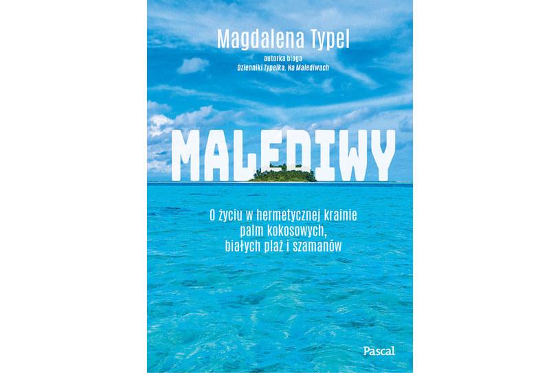 """Okładka książki """"Malediwy"""" /materiały prasowe"""