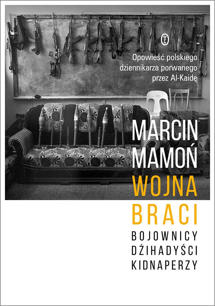 Okładka książki Marcina Mamonia /Materiały prasowe