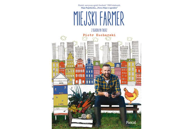 """Okładka książki """"Miejski farmer"""" /materiały prasowe"""