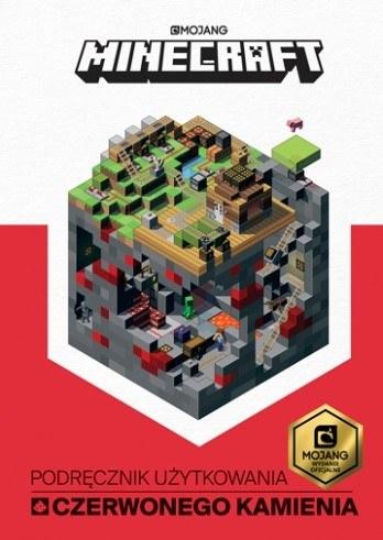"""Okładka książki """"Minecraft. Podręcznik użytkowania czerwonego kamienia"""" /materiały prasowe"""