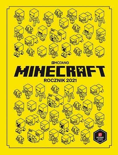 """Okładka książki """"Minecraft. Rocznik 2021"""" /materiały prasowe"""