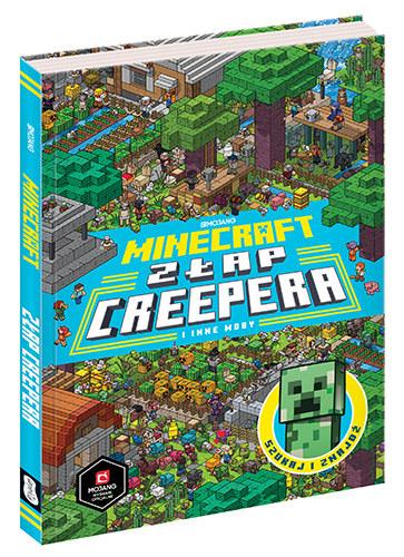 """Okładka książki """"Minecraft. Złap Creepera i inne Moby"""" /materiały prasowe"""