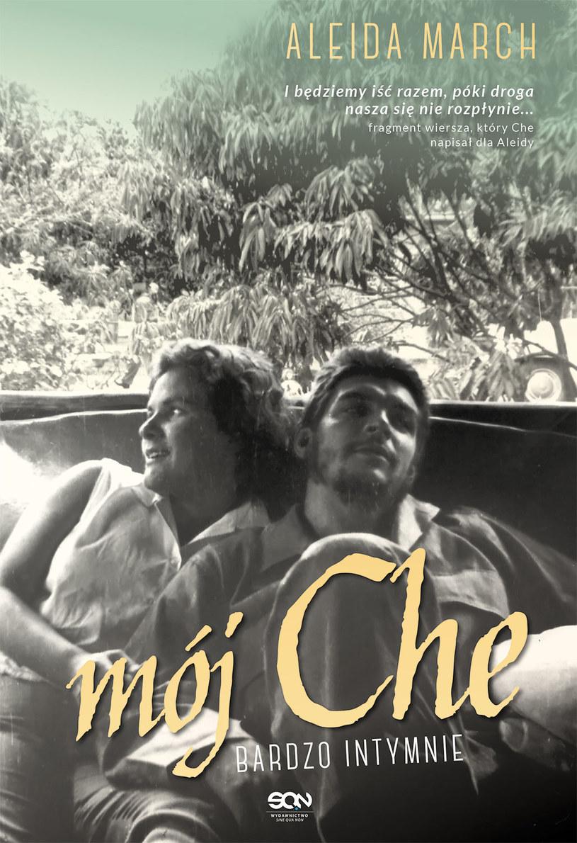 """Okładka książki """"Mój Che. Bardzo intymnie"""" /materiały prasowe"""