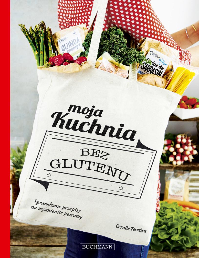 """Okładka książki """"Moja kuchnia bez glutenu"""" /materiały prasowe"""