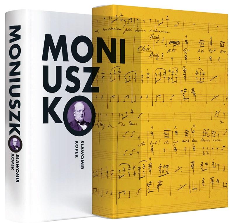 """Okładka ksiażki """"Moniuszko"""" Sławomira Kopra /materiały prasowe"""