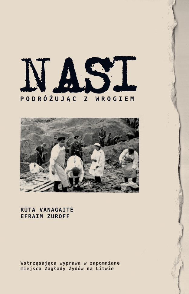 Okładka książki NASI /Materiały prasowe