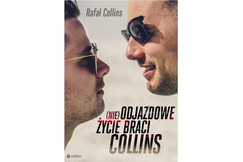 """Okładka książki """"(Nie) odjazdowe życie braci Collins"""" /materiały prasowe"""