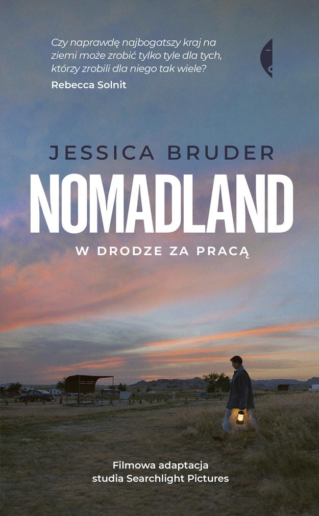 """Okładka książki """"Nomadland"""" /Wydawnictwo Czarne /Materiały prasowe"""